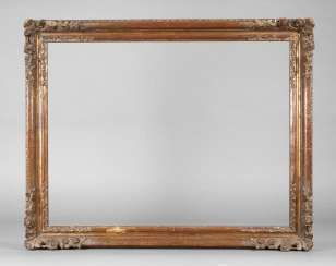 Gold stucco frame 19. Century.