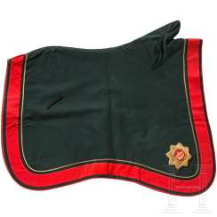 Parade saddlecloth for officers of the artillery, until 1914