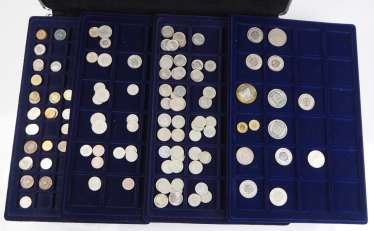 Switzerland: Collection of small coins.