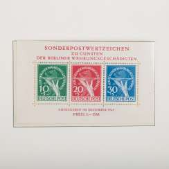 Berlin 1948-72, post office fresh complete collection