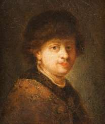 PORTRAIT OF A LADY WITH FUR HAT