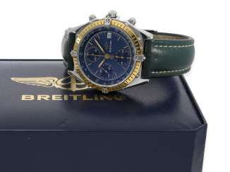 Watch: sporty, vintage Breitling Chronograph
