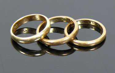 3 wedding rings