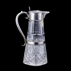 Russian decanter in neo-Gothic style