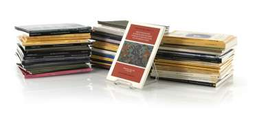 Group of auction catalogues from Christie's and Sotheby's between 1981 and 1994