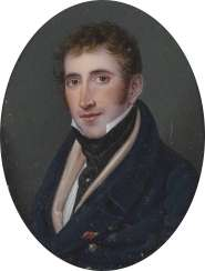 PORTRAIT MINIATURE OF A YOUNG GENTLEMEN IN THE ORIGINAL CASE