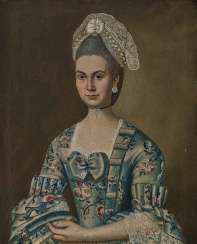 German - Portraits of Anna Maria Koehler - Jean-Baptist Koehler, Mainz, 2nd half of the 18th century