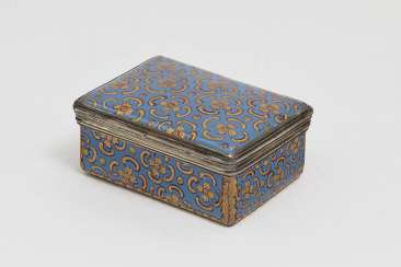 Snuff-Box, Wohl Deutsch, Ende 18. A running commentary