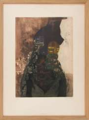SIG. BRANDSTÄTTER, Abstract composition, etching, 20. Century