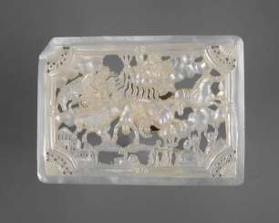 Fine Mother Of Pearl Carving