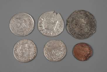 Collection Of Small Coins Of Poland-Lithuania 16. to 18. Century
