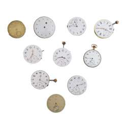Vintage Watch Movements Pocket Watches,