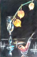 Still life with physalis