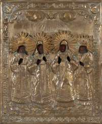 Icon with four saints.