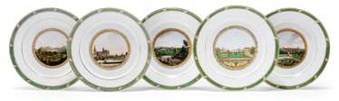 Ten plates for the Grand-Ducal court of Saxe-Weimar-Eisenach