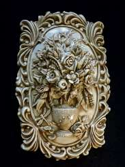 Vase with flowers - decorative panels