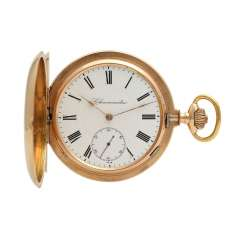 Pocket watch Savonette-case in Gold 14K
