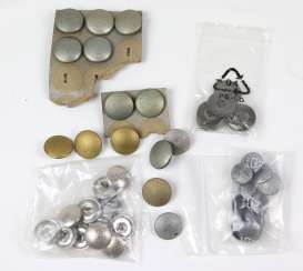 Lot of military buttons