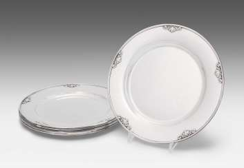 Set: 6 Square Plate, Georg Jensen