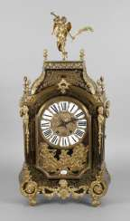 Large table clock in Boulle-technique