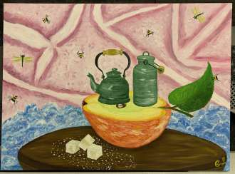 """Apple tea in a dream"""