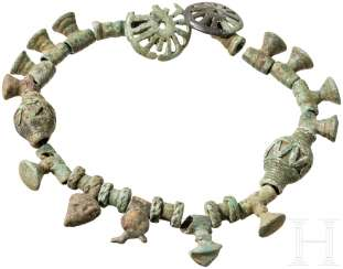 Necklace made of bronze beads, Caucasus, Koban culture, 8. - 7. Century before Christ