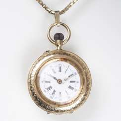 Ladies pocket watch by Dürrstein & co.