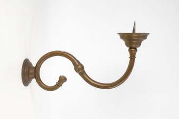 A very large candle wall sconce