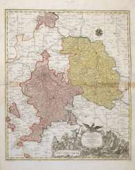 Tobias Conrad Lotter Map Of Brandenburg-Kulmbach