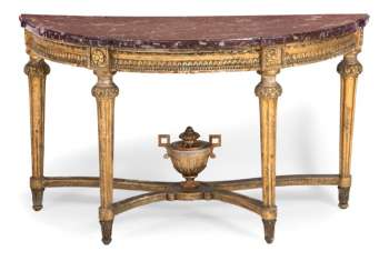 Magnificent Louis XVI console