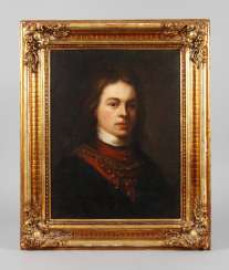 Baroque portrait of a young man