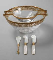 Saint-Louis, caviar Cup with Cutlery