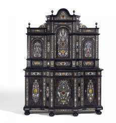MAGNIFICENT add-on Cabinet, NAPOLEON III of France. Around 1870/80.