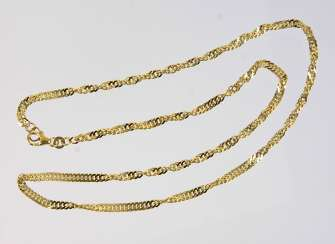 gold Singapore chain - GG 333