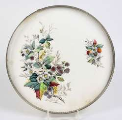 Tray * berry twigs * 1920s