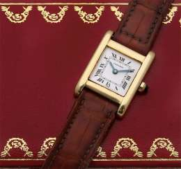 "Classic Cartier ladies' wristwatch ""Tank Normale"""
