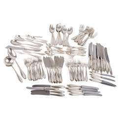 ENGLISH Extensive silver Cutlery
