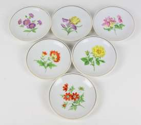 Meissen Set Of Wall Plates *Flower 1*