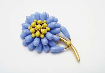 Brooch. Karl Lagerfeld for Chanel Boutique, Paris. Collection Prêt-à-Porter spring / summer 1991