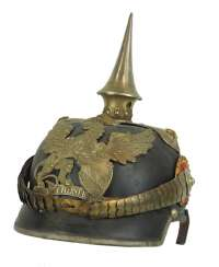 Baden: Pickelhaube for officers of the Dragoon Regiments, 20, 21 and 22.