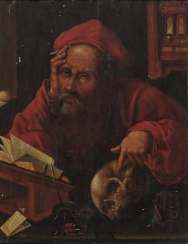 Joos van Cleve, after - St. Jerome in his study