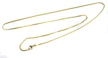 Foxtail chain yellow gold 333