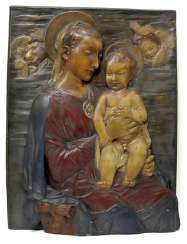 MADONNA WITH CHILD, ITALY,