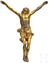 Christ's body, gold-plated Bronze, German, 17. Century
