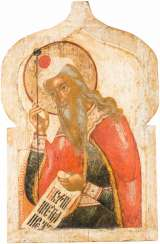 A MONUMENTAL ICON OF THE PROPHET AARON FROM A CHURCH IKONSTASE