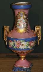 Vase with floral decor, Imperial porcelain factory