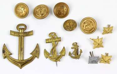 Item marine buttons among others