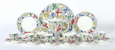 Kaffeeservice ''Spirit of Art'' E: Keith Haring (1958-1990)