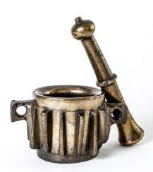 Spanish mortar with pestle