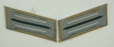 Wehrmacht: Pair of collar tabs for teams of the hunter troop - southern front.